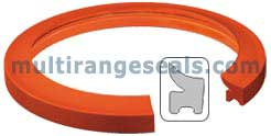 DLS Type Leap Seal - Silicone Endless Rubber Gaskets for HT / HP Dyeing Machine manufacured by Multi Range Engineering Company Based in Mumbai